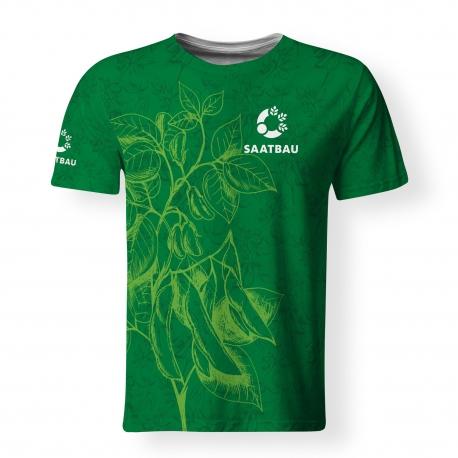 Tričko s krátkym rukávom - SAATBAU - unisex