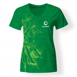 Dámske tričko s krátkym rukávom - SAATBAU