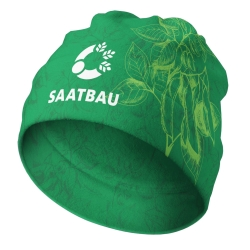 Beanie - SAATBAU with soja motive