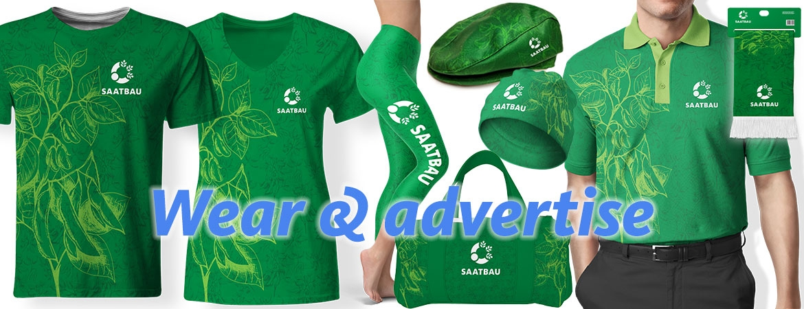 Wear and advertise